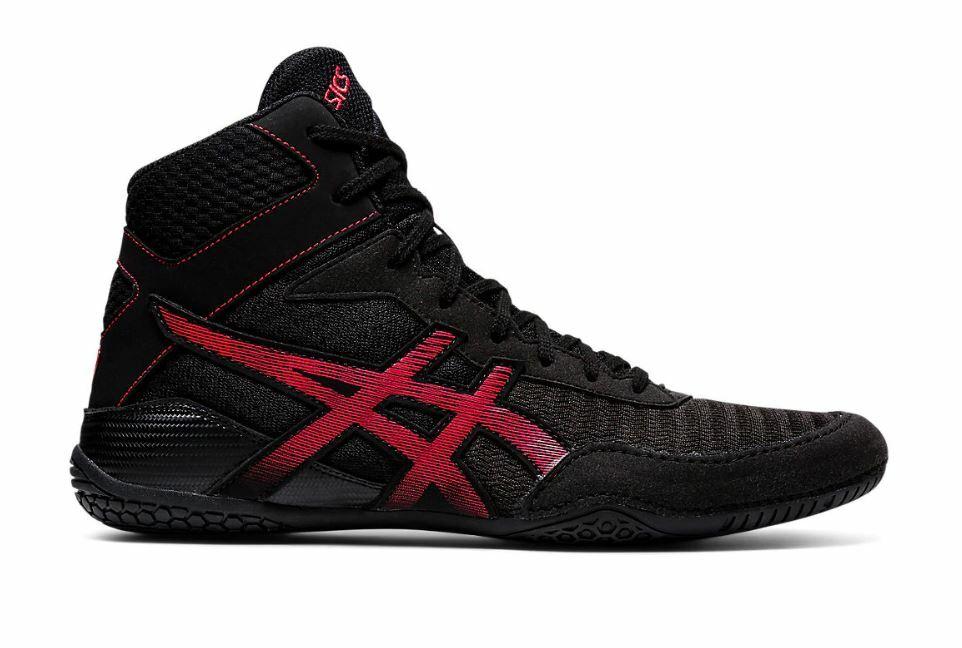 Asics Matcontrol wrestling shoes, Black