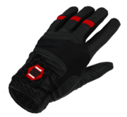 Zone PRO (20) Goalie Gloves (Black/Red)