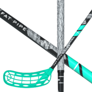 Fat Pipe Raw Concept 27 Coral Green Special Edition Floorball stick
