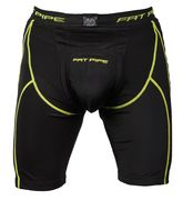 Fat Pipe GK Black-Yellow Shorts with Cup