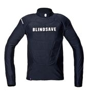 Blindsave Protection Vest (18) with Rebound-control Longsleeves , Black
