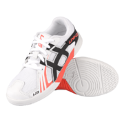 Unihoc U3 Junior Indoor Shoe White/Red