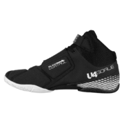 Unihoc U4 Goalie (Black-White) - Goalie Shoe