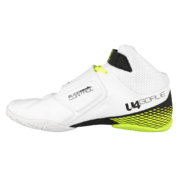 Unihoc U4 Goalie (White-Neon Yellow) - Goalie Shoe