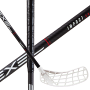 Exel IMPACT Black 2.6 Drop Oval (20) Floorball stick