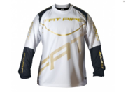 Fat Pipe White/Black/Gold (19) GK-Shirt
