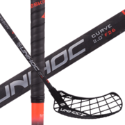 Unihoc Epic Carbskin Curve 2.0º F26 Red (19) Floorball stick
