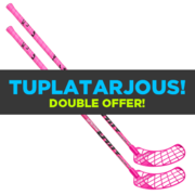 Unihoc Unity Feather Light F29 Cerise (16) Floorball stick (2 pcs)