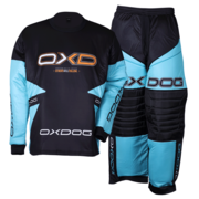 Oxdog Vapor Goalie shirt and pants (Tiff Blue/Black)