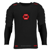 Zone PRO (20) Goalie Protective longsleeve t-shirt (Black/Red)