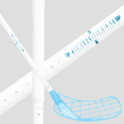 Zone Hyper AIR Superlight 29 Oval White/Blue (20) Floorball stick