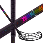 Zone Hyper AIR Superlight 27 Oval Black/Hologram (20) Floorball stick