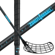 Zone Zuper AIR Superlight 28 Oval Black/Blue (20) Floorball stick