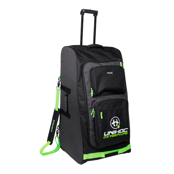 Unihoc Oxygen Line (19) Goalie Bag With Wheels