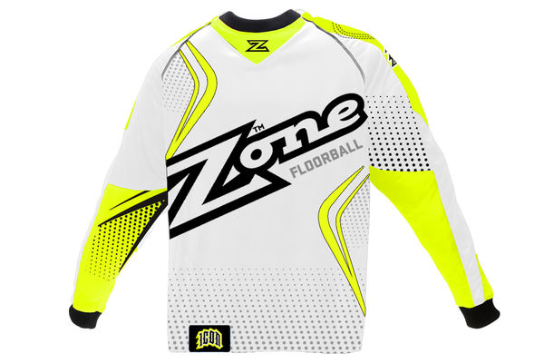 Zone Icon Mega Goalie Sweater (White)