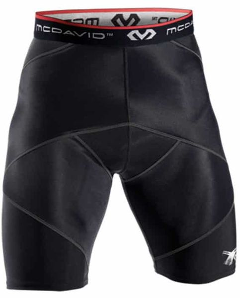McDavid Cross Compression Shorts With Hip Spica 8200R