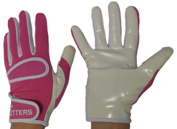 Cutters Pink C-Tack - Goalie gloves