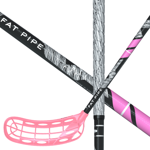 Fat Pipe Raw Concept 29 Pink (20) Floorball stick