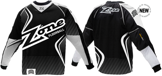 Zone Icon Mega - Goalie Jersey (Black)