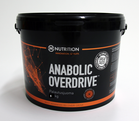 M-Nutrition Anabolic Overdrive AOD Recovery Drink 5 kg