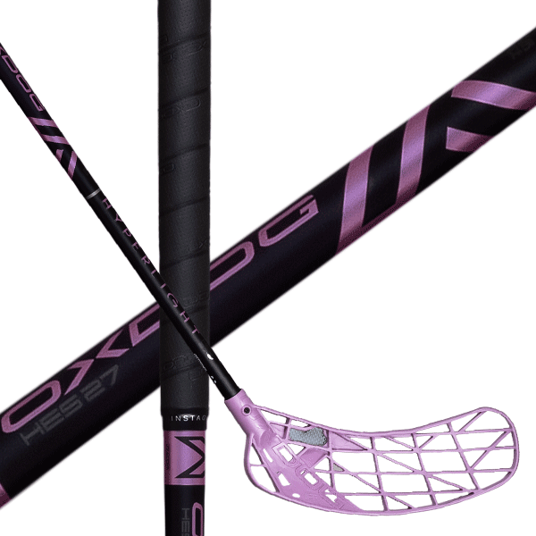 Oxdog Hyperlight HES 29 Frozen Pink (20) Floorball stick