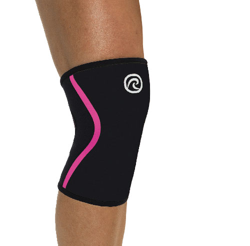 Rehband Rx Knee Support Black/Pink (7mm) 7751