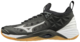 Mizuno Wave Momentum  Black Silver -indoor shoe
